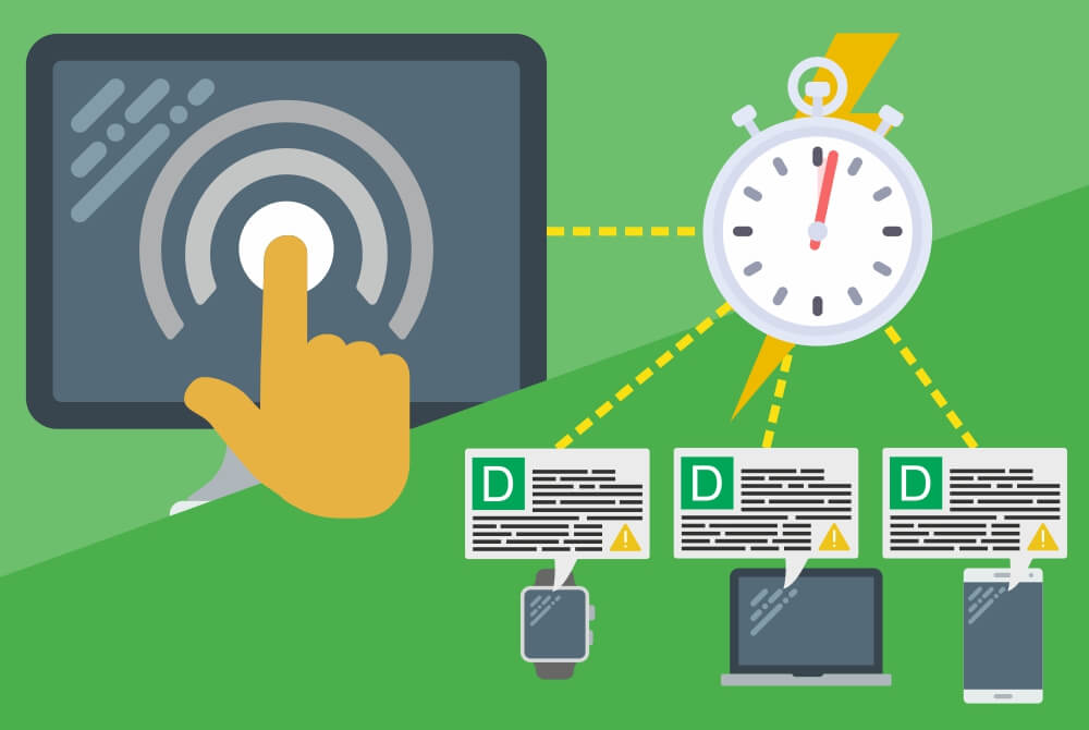 ERP Software, Alerts reduces Order-to-delivery cycles
